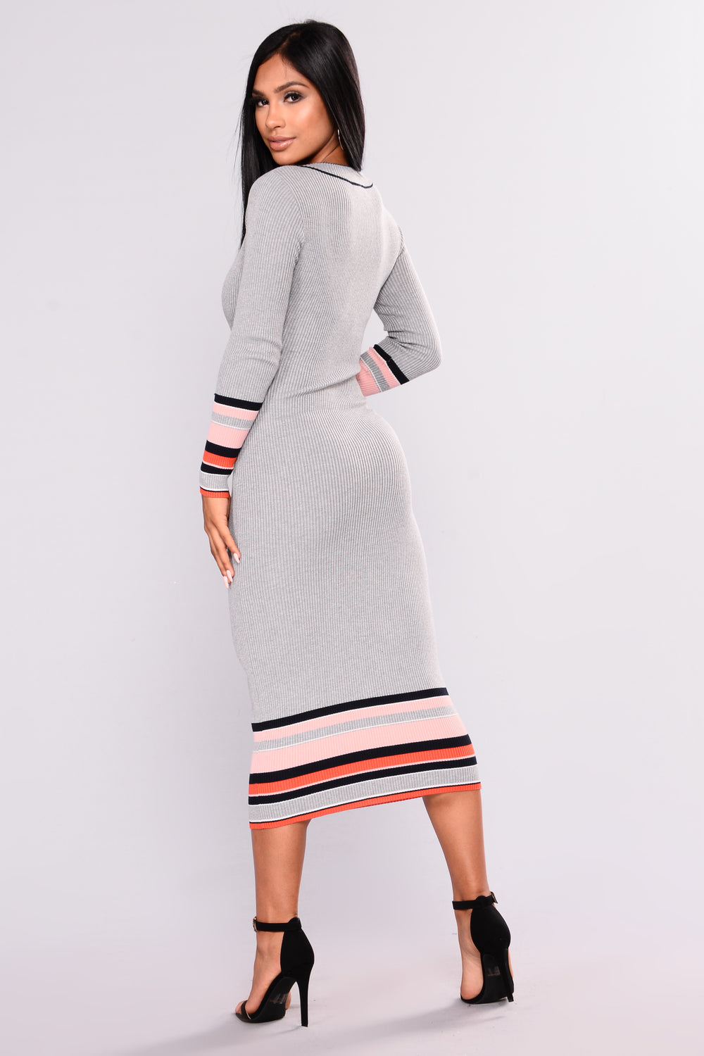 East Coaster Dress - Heather Grey
