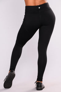 Martina Performance Active Leggings - Black