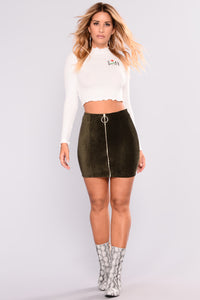 Slay My Life Top - White