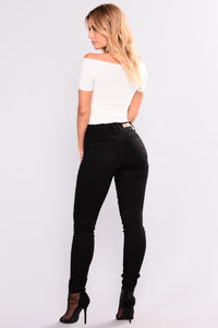 Back It Up Booty Lifting Jeans - Black