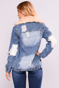 Fur Get You Jacket - Ivory
