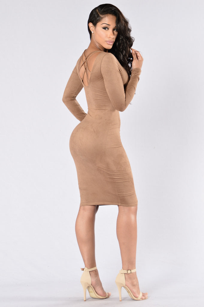 My Destiny Dress - Mocha