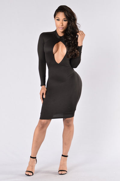 Beautiful Sinner Dress - Black