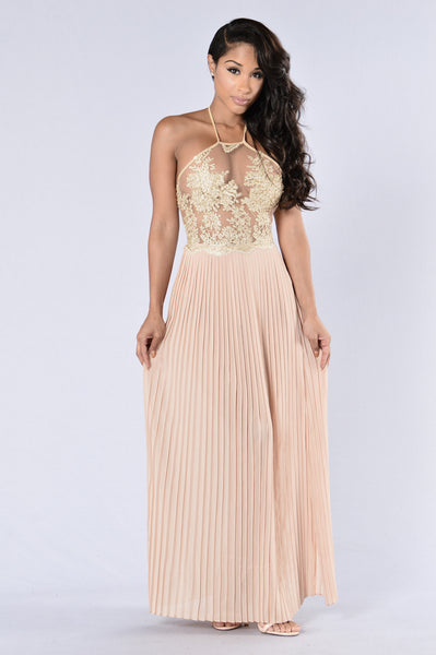 Last Dance Dress - Gold