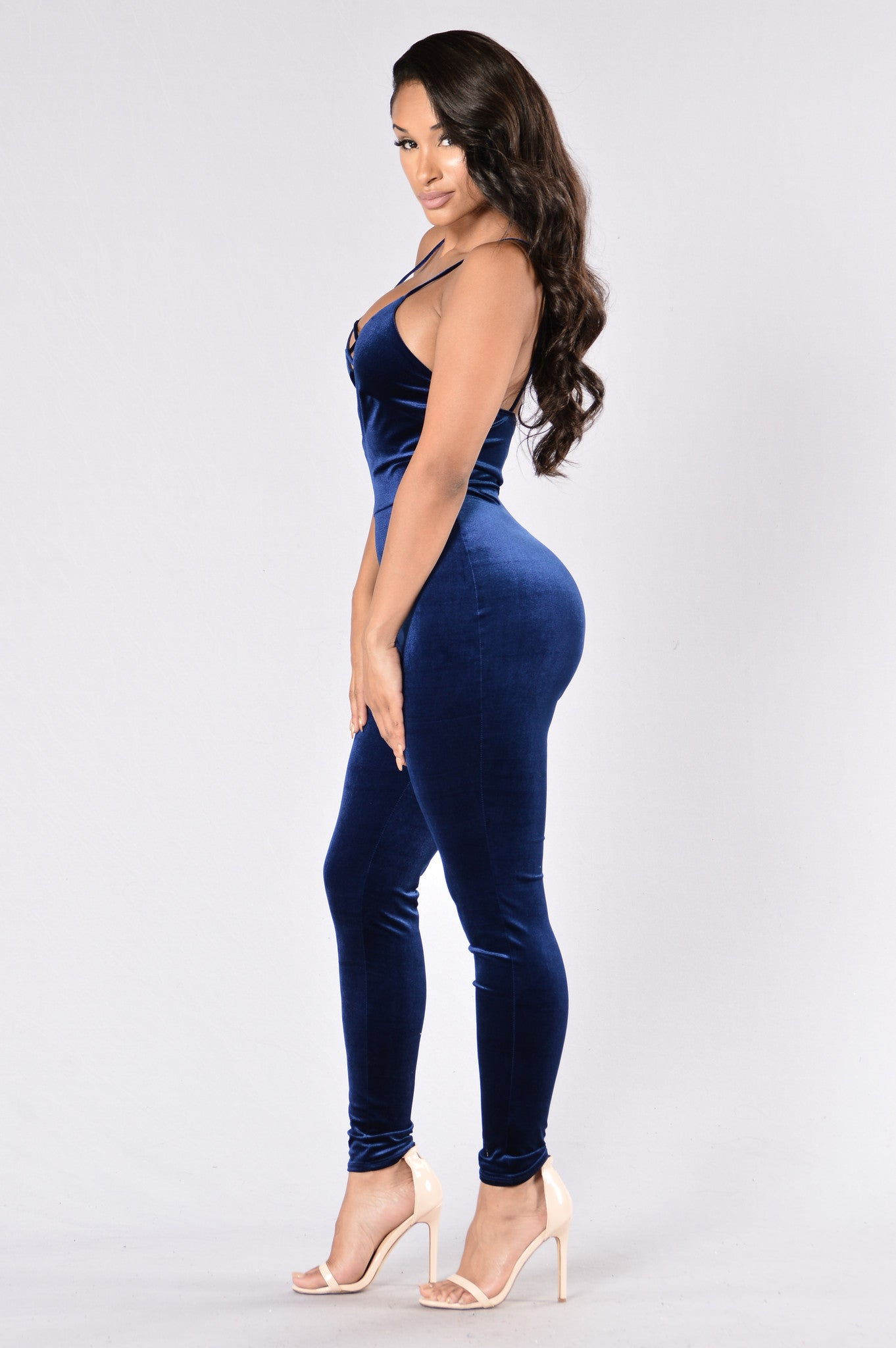 2877750f587b Retro Glam Jumpsuit - Blue