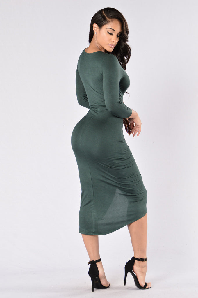 Knew Better Dress - Jade Jewel