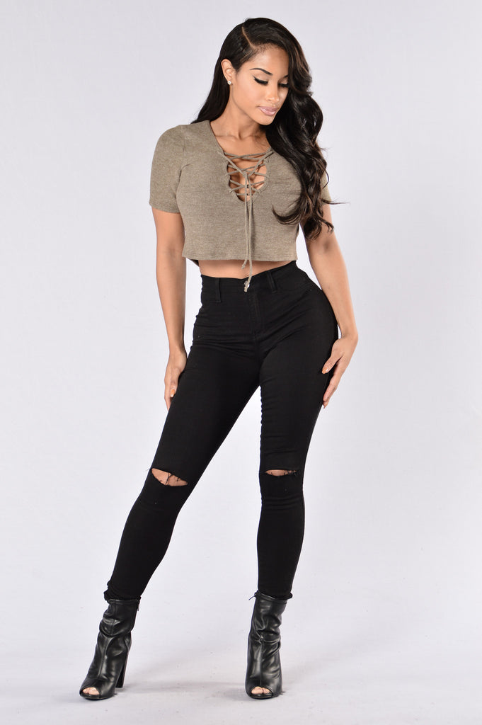 Lucia Top - Olive