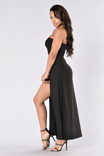 No Angel Romper - Black