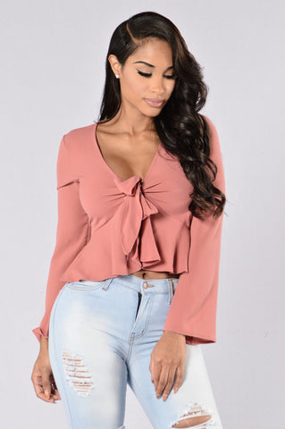 Leeor Top- Dark Mauve