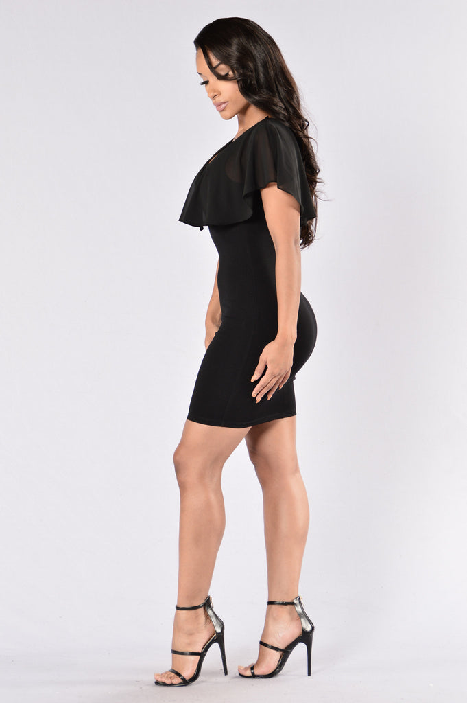 Locked Out of Heaven Dress - Black