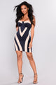 Block You Out Mini Dress - Navy