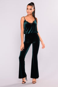 Sharp Femme Jumpsuit - Hunter
