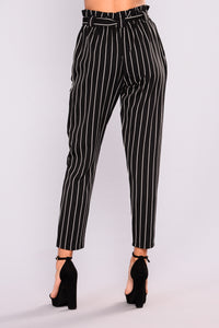 Marcela Pants - Black/White