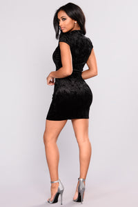 Lil Miss Ting Dress - Black