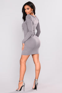 Marcie Sweater Dress - Lavender