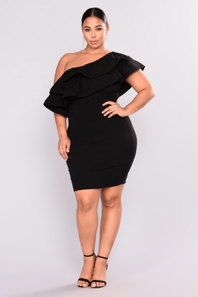 Dance With Me Party Dress - Black