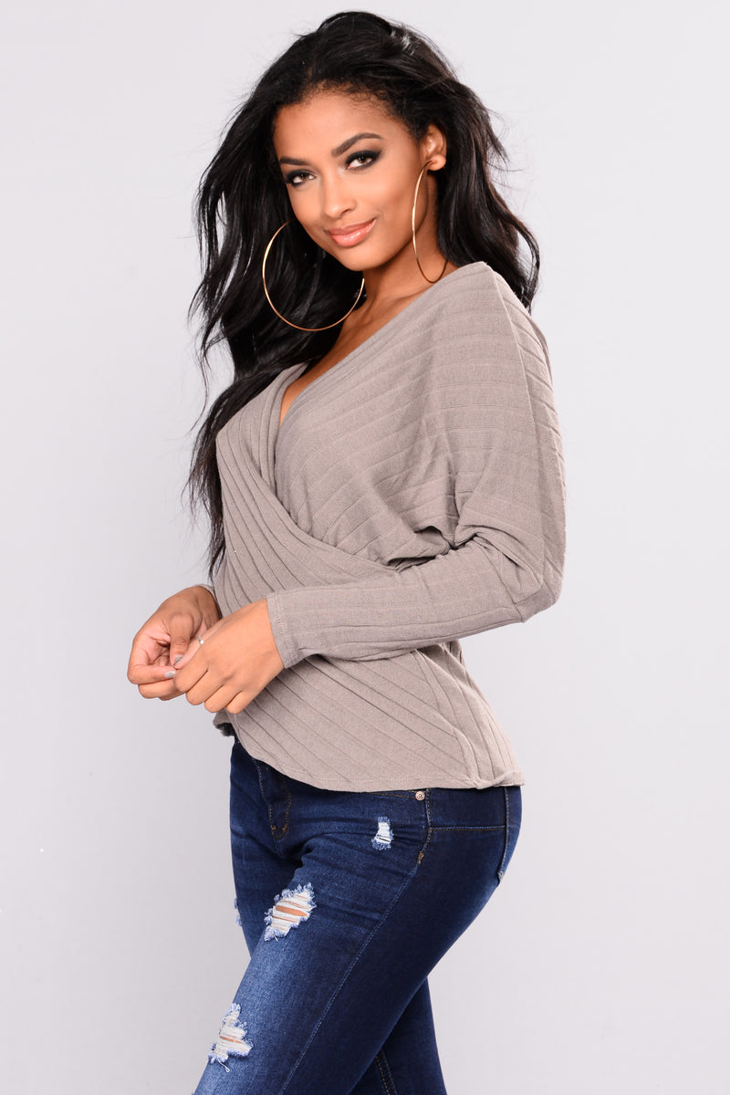 Cozy Love Sweater - Mocha