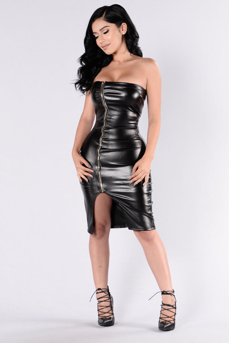 The Goldeneye Dress - Black