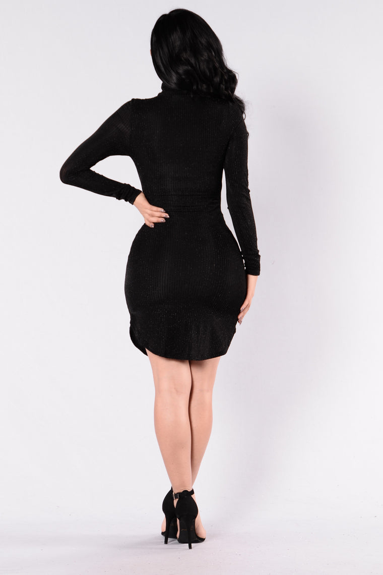 I'm About It Dress - Black