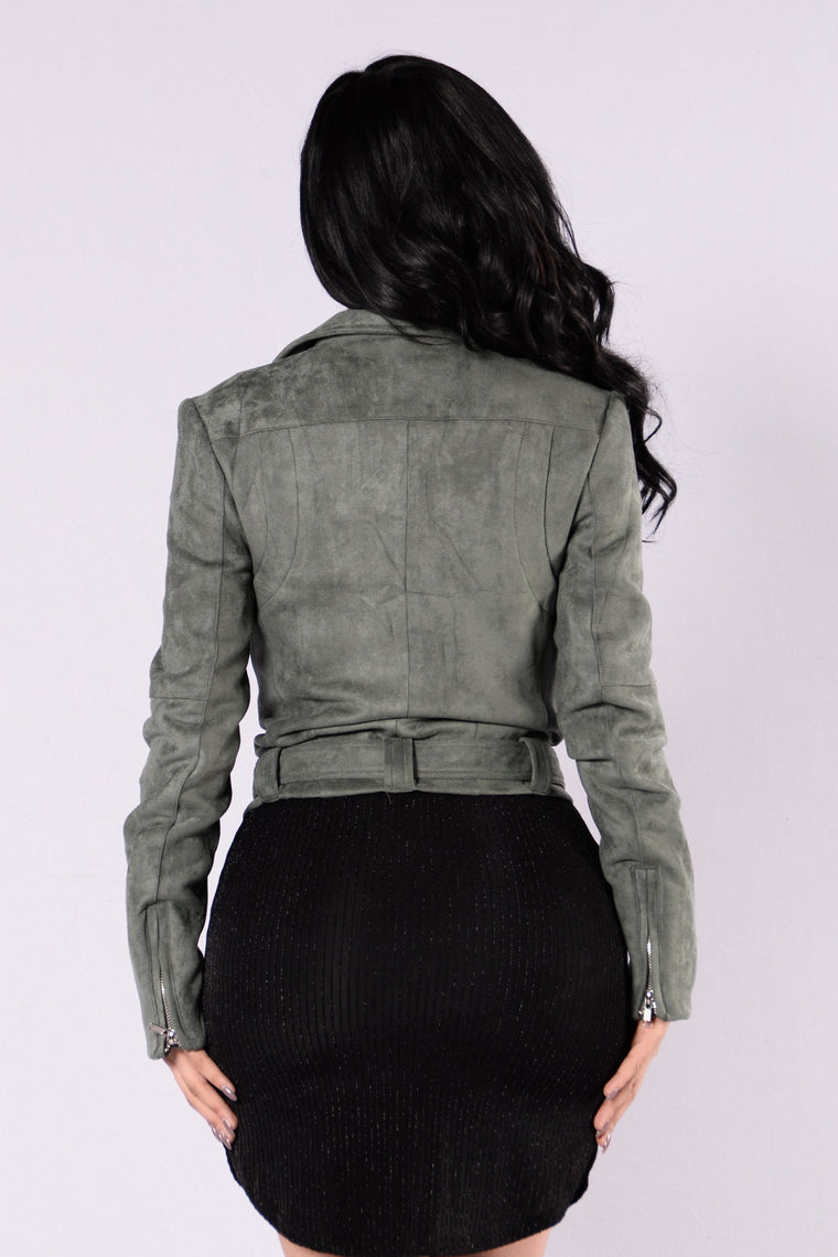 Rule Breaker Jacket - Olive