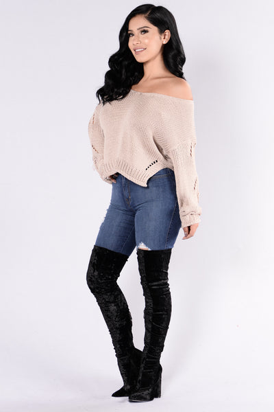 Zula Sweater - Taupe