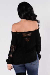 Zula Sweater - Black
