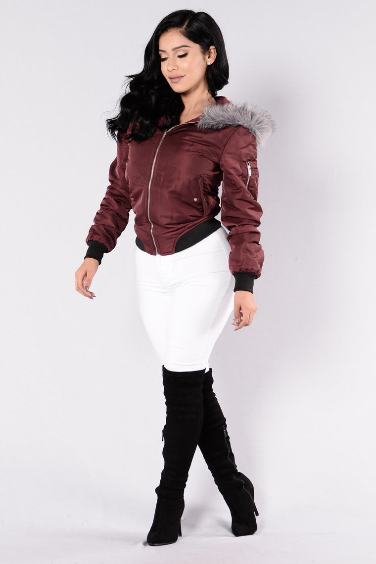 Ragdoll Jacket - Burgundy