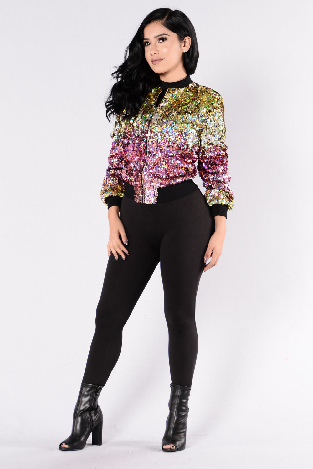 Pretty Rave Girl Jacket - Multi