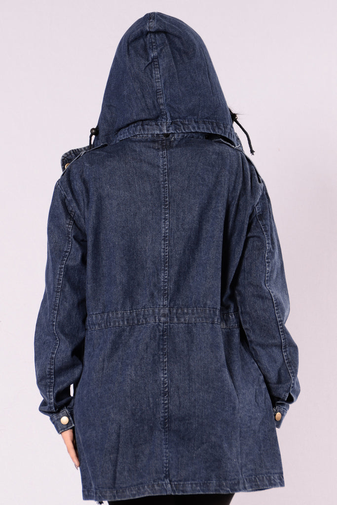 Redemption Denim Jacket - Denim Blue