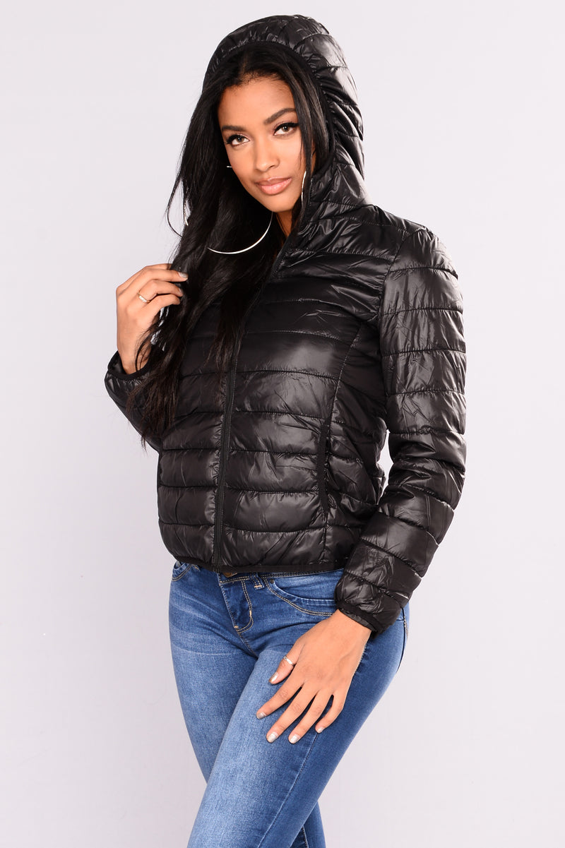 Alaska Padded Jacket - Black