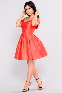 Wonderful Life Dress - Red