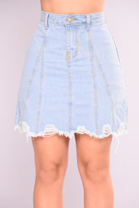 Jayde Denim Skirt - Denim