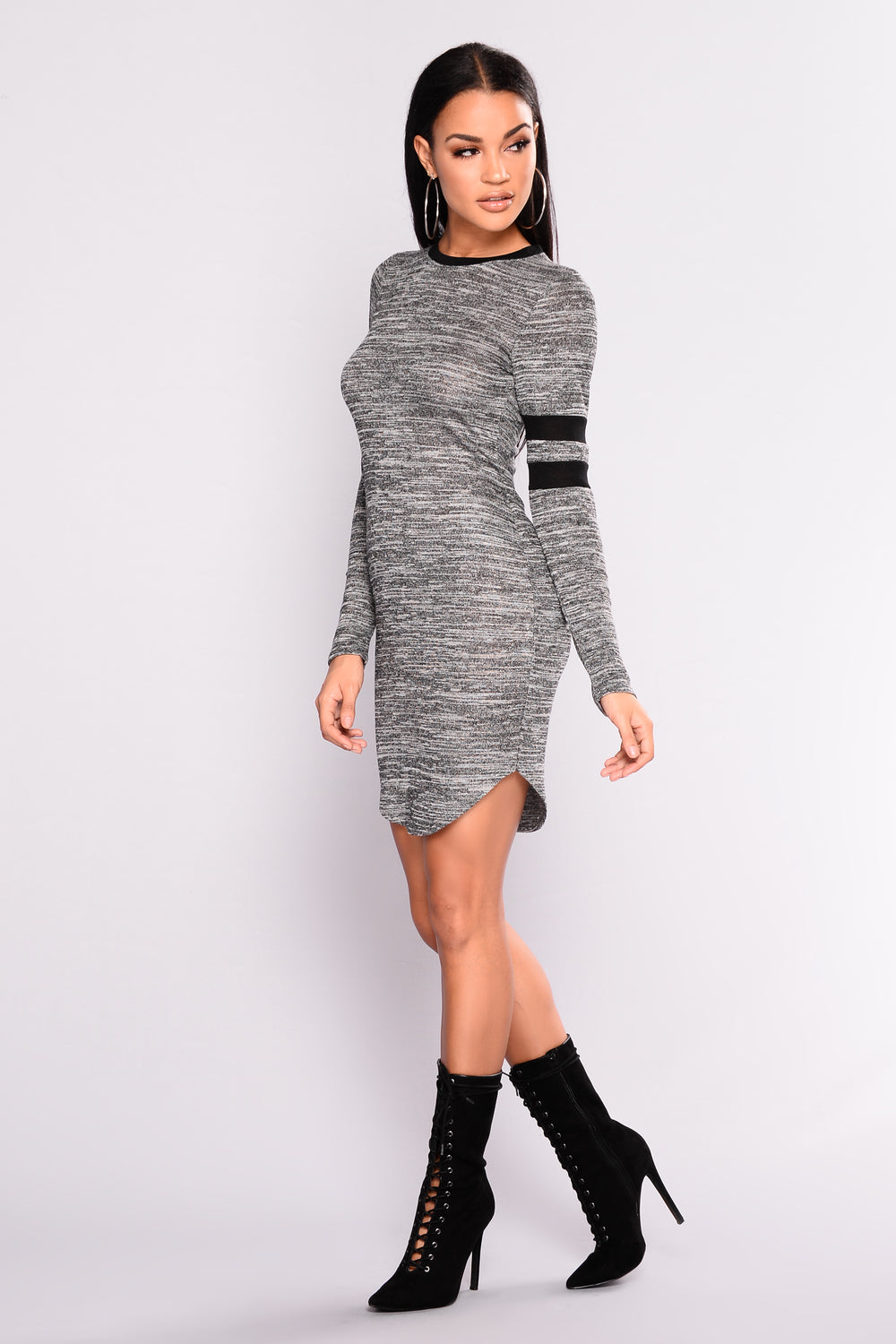 Runner Up Tunic - Charcoal