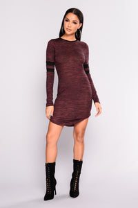Runner Up Tunic - Burgundy