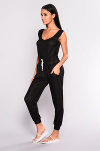 Peace Of Mind Jumpsuit - Black
