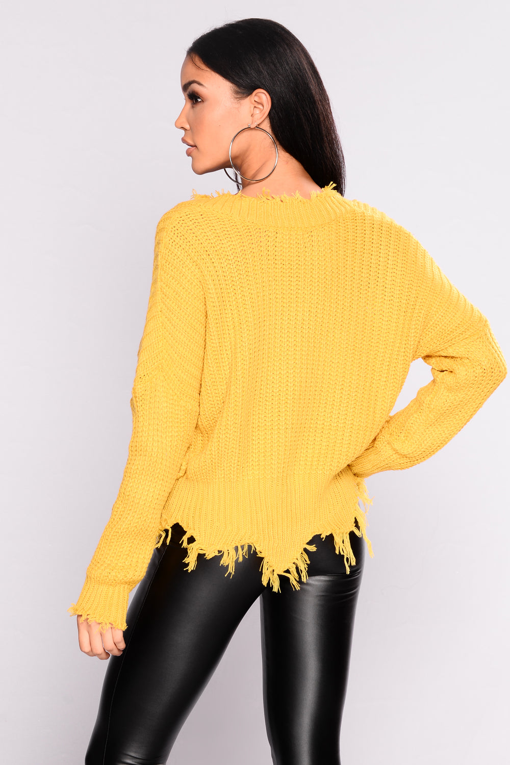 Emotional Distress Sweater - Mustard