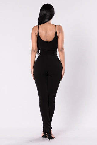Secret Weapon Jumpsuit - Black