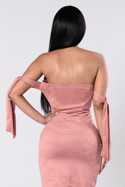 Paparazzi Dress - Mauve