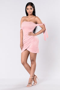 Paparazzi Dress - Pink Frost