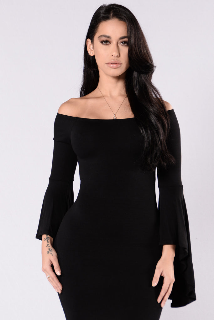 She's Got Style Dress - Black