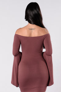 She's Got Style Dress - Plum