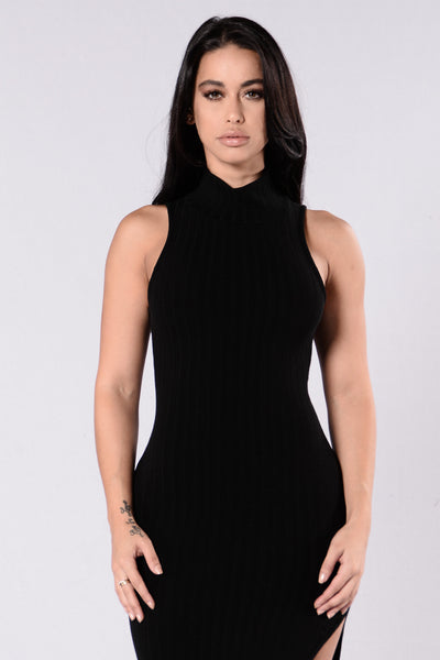 Mama Mia Dress - Black