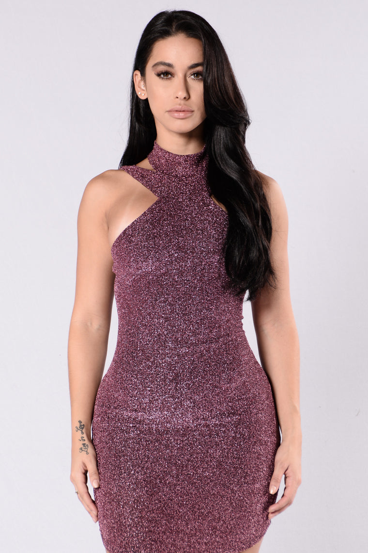 Stole The Night Dress - Pink