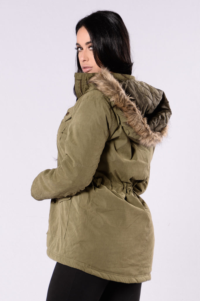 Chill Bill Jacket - Pea Olive