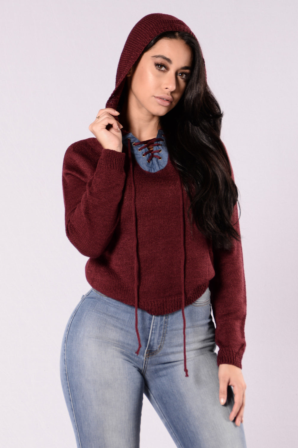 Sorority Sweater - Burgundy