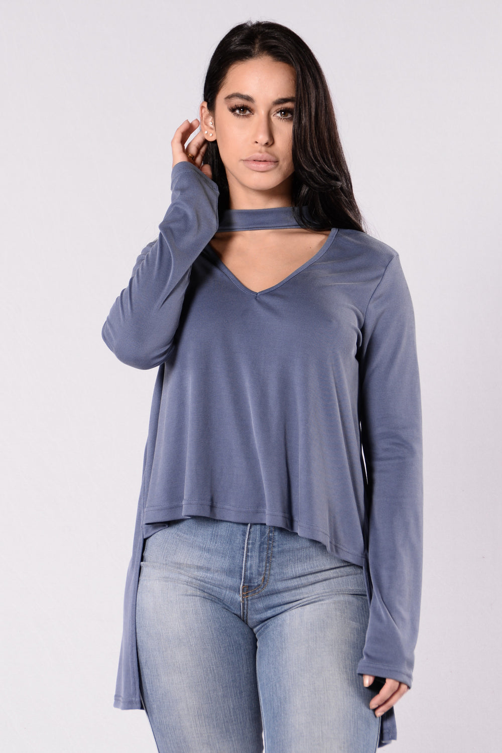 Loving Every Second Top - Blue