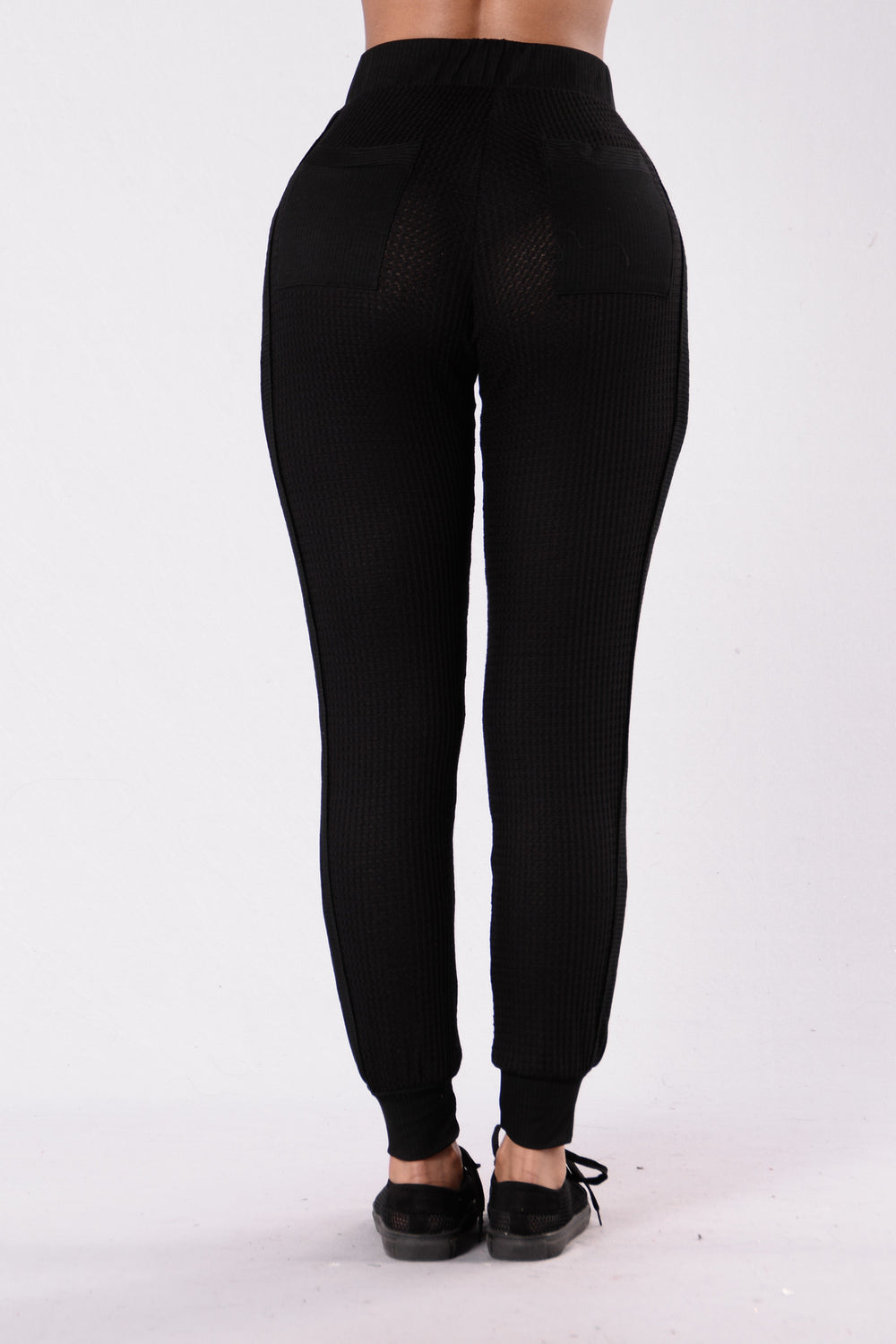 Cozy Cabin Pants - Black