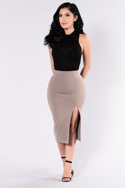 Effie Skirt - Mocha