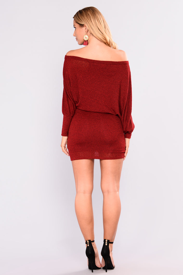 Did You Say Dulce De Leche Dress - Red