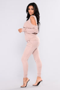 Sarai Lounge Top - Dusty PInk Angle 6